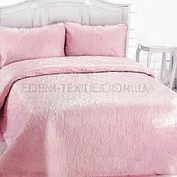 Элитное покрывало с наволочками Турция Laver, Розовый, 240х260