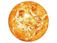 Светящиеся планеты наклейки на стену 3D Солнце