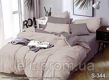 Двуспальный комплект постельного белья с компаньоном S344