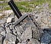 Пляжный совок (скуп) Scoop квадрат  ➜толщина 1.5мм ➜отверстие 7мм ➜размер 100×140 мм