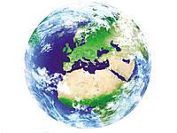 Наклейка стикер 3D светящийся Земля Земля