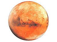Наклейка стикер 3D светящийся Марс Марс