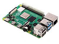 Плата - мини компьютер Raspberry Pi 4 Model B 4 GB ОЗУ