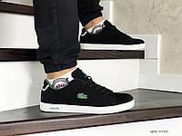 Мужские кроссовки черные Lacoste 8520