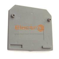 Заглушка клеммника JXB 4/35 серый Electro