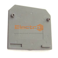 Заглушка клеммника JXB 16/35 серый Electro