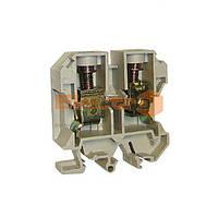 Клеммник JXB наборной 4/35 сечение min/max 0,2-4  серый Electro