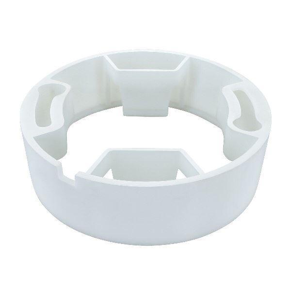 Кріплення для світильника SL UNI коло. бел. пластик Код.59678
