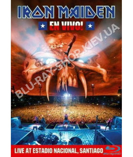 Купить Iron Maiden - En Vivo! [2 DVD]