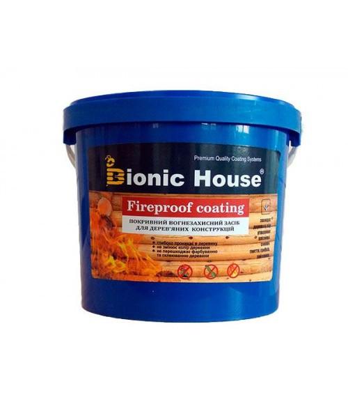 """Огнебиозащитная краска Bionic-House """"FIREPROOF COATING"""" 20л"""