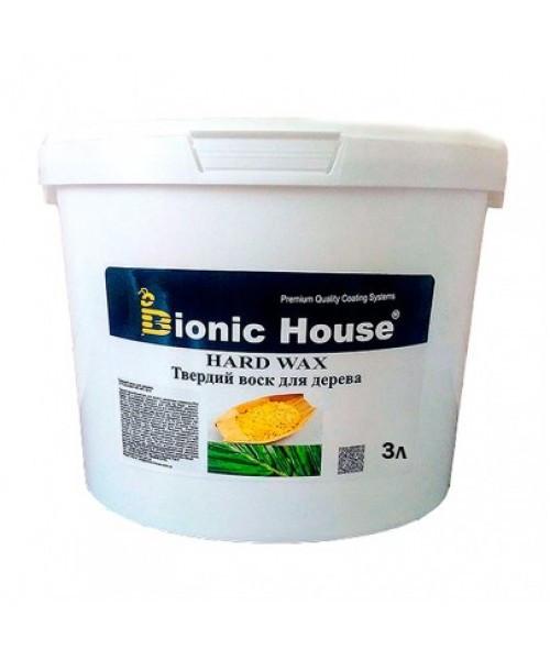 """Масло с твердым воском Bionic-House для паркета """"Hard wax oil"""" 3.0 л"""
