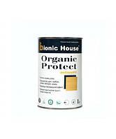 "Масло - пропитка для дерева ""ORGANIC PROTECT OIL"" (1л) с антисептиком. Bionic-House (Бионик Хаус)"