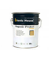 "Масло - пропитка для дерева ""ORGANIC PROTECT OIL"" (10л) с антисептиком. Bionic-House (Бионик Хаус)"