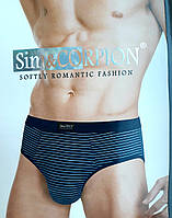 Мужские стрейчевые плавки  Sima Corpion полоска 3XL  (4404), фото 1