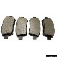Колодки тормозные передние Geely MK, BYD F-3, Geely FC/SL, 1014003350 KONNER