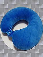 Подушка LSM для путешествий 30х30х9 синяя    (105-104)