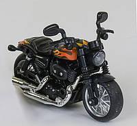 Мотоцикл MY 66 - М 1215 металлопластиковый со звуком и светом желтый R203307