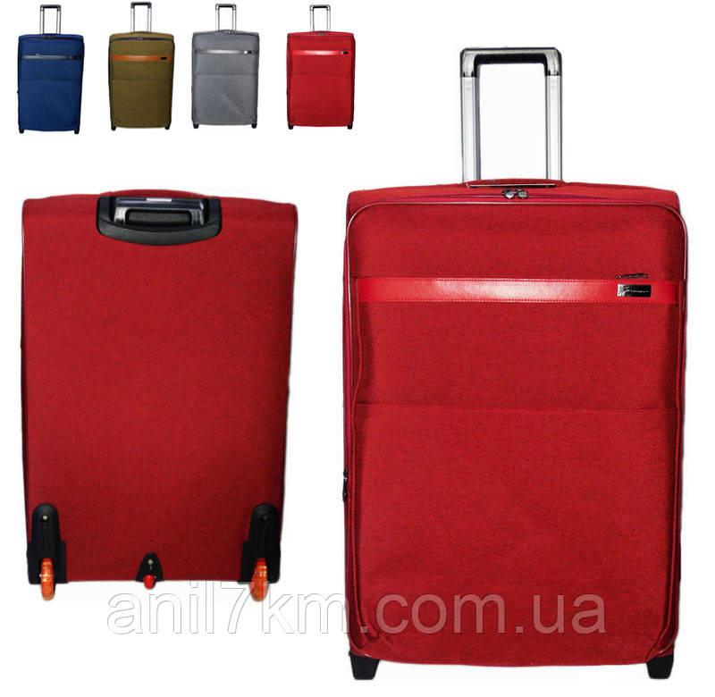 Средний   чемодан на силиконовых колёсах Golden Horse