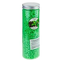 Воск для горячей эпиляции с экстрактом зеленого чая Christian 400g (CWAX-402)