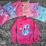 Кофты для девочек 9-12 лет утеплённые на байке, фото 2