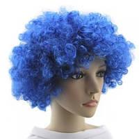 Парик Клоуна синий - 203775