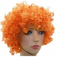 Парик Клоуна оранжевый - 203774
