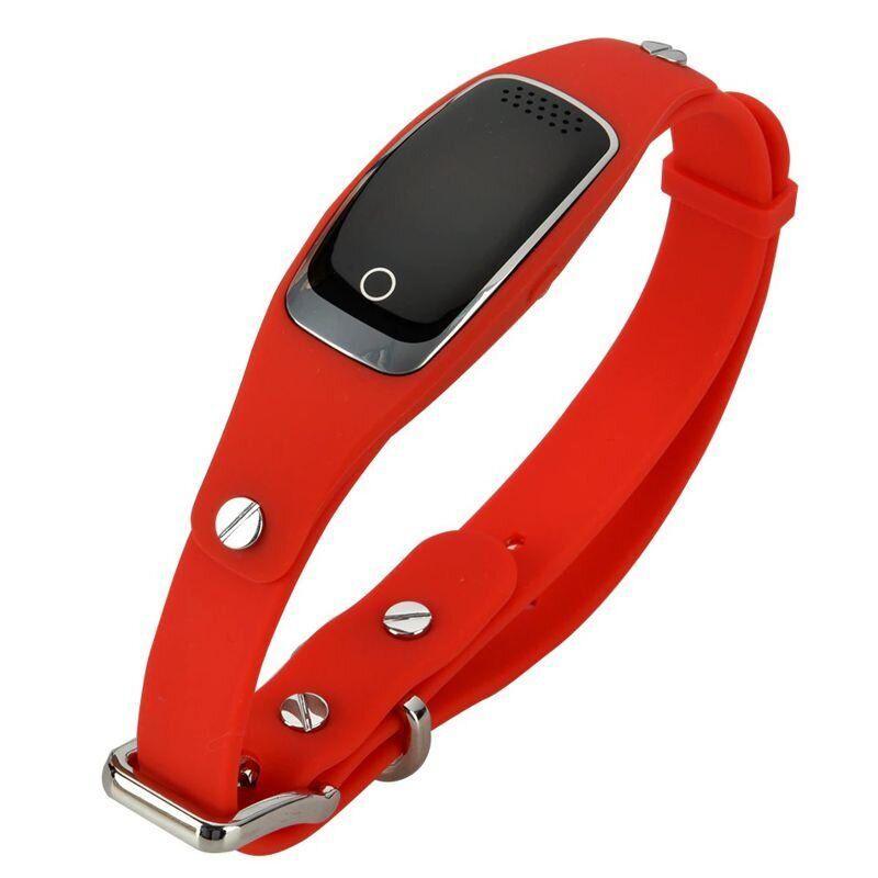 GPS ошейник для собак - трекер Pet Tracker S1, водонепроницаемый, красный