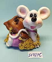 Копилка керамическая с символом 2020 года Крысы 8,5*9 см