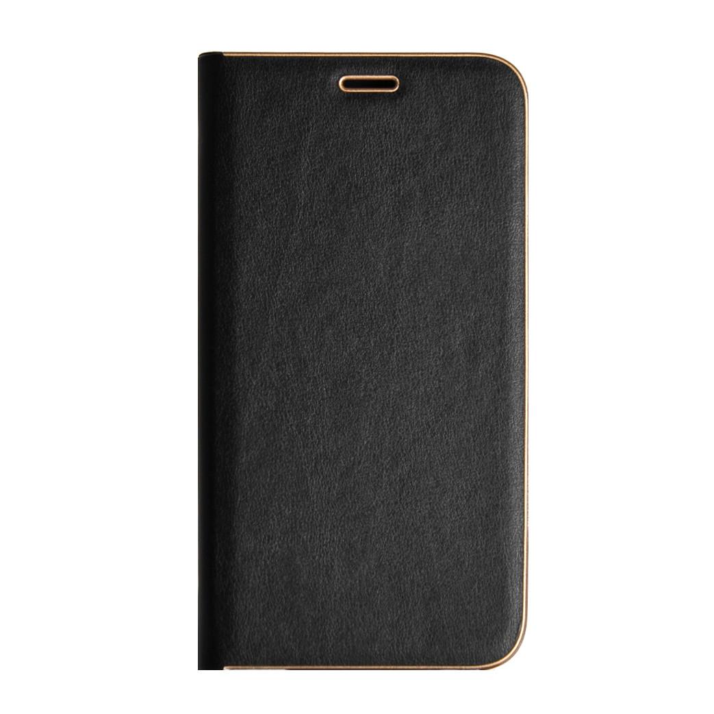 Кожаный чехол-книжка для Huawei P30 Pro 2019 чёрная Florence TOP №2