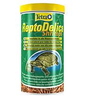 Корм для водных черепах (креветки) Tetra ReptoDelica Shrimps 1000 мл / 80 г код 169265