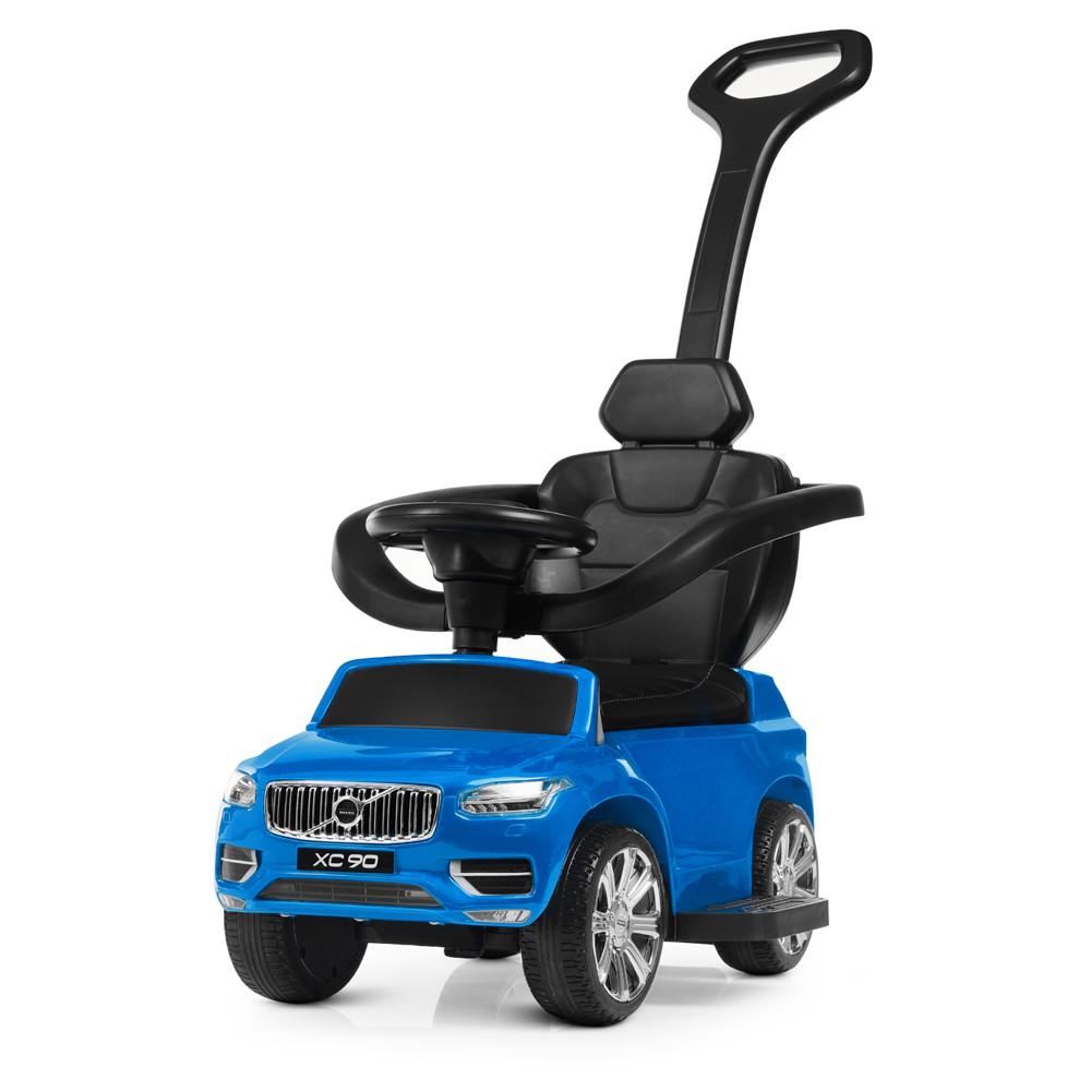 Дитяча каталка-толокар M 4114ELS-4 Синій Гарантія якості Швидка доставка