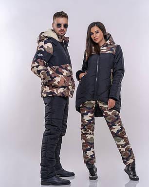 Супермодный мужской костюм на зиму, фото 2