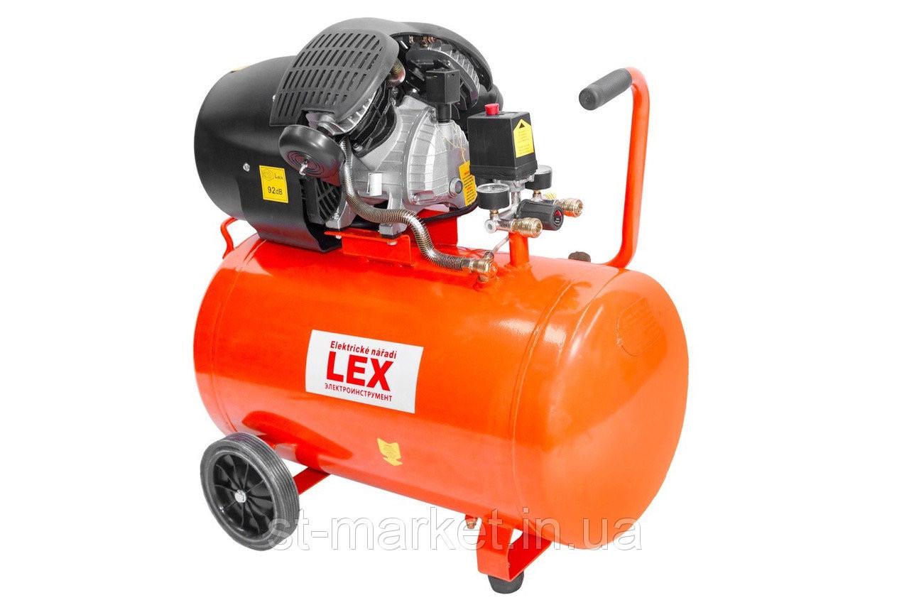 LEX компрессор LXC100V (100 літрів)