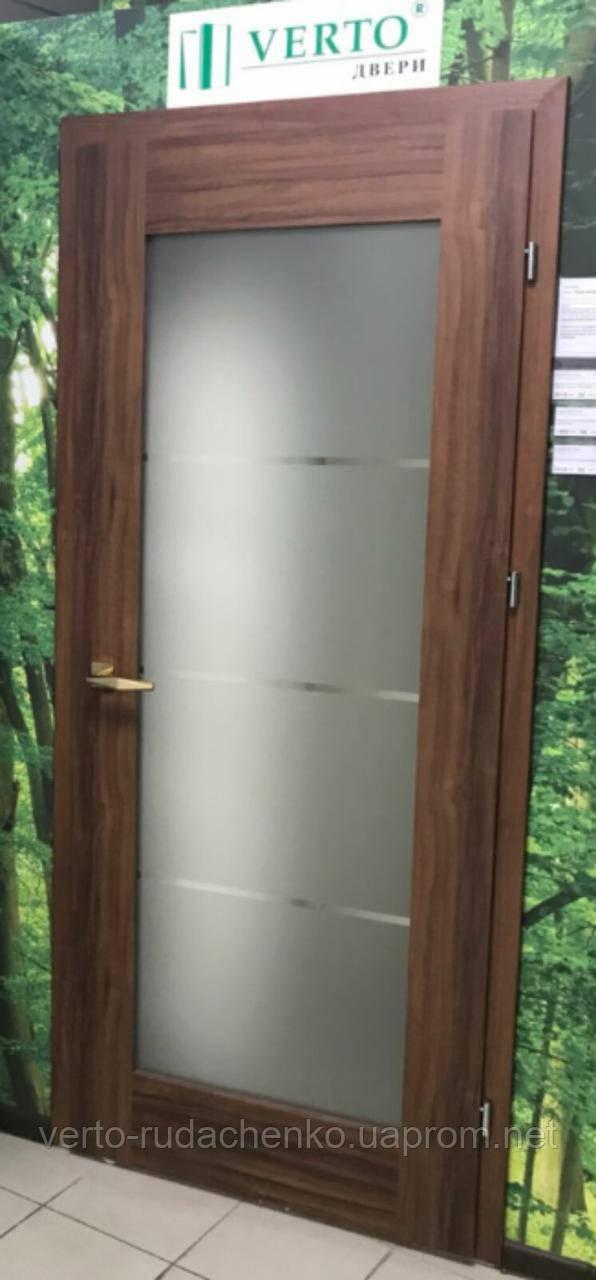 Двери Verto Лада-Концепт 5.3 в декоре Орех «Резист»
