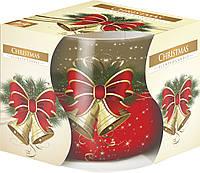 Ароматическая свеча BISPOL Рождество