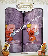 Полотенца для детей 2шт Gulcan Mouse