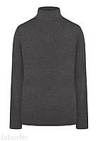 Водолазка женская, цвет серый меланж, размер S (42-44)