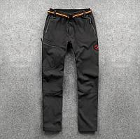Зимние мужские штаны брюки MAMMUT SoftShell оригинал 2019 г