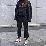 Бронежилет HGUL+BAG нагрудная сумка 0001 черная, фото 7