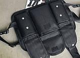 Бронежилет HGUL+BAG нагрудная сумка 0001 черная, фото 4