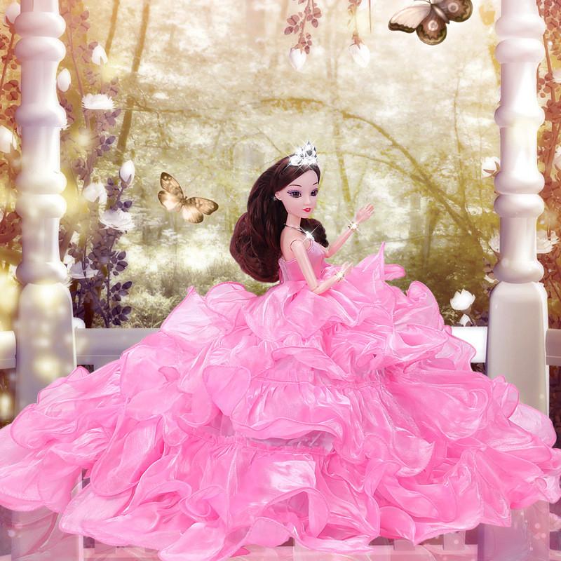 Рухома (шарнірна) bjd автора лялька лялька плаття-квітці