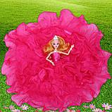 Рухома (шарнірна) bjd автора лялька лялька плаття-квітці, фото 3