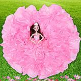 Рухома (шарнірна) bjd автора лялька лялька плаття-квітці, фото 4
