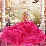 Рухома (шарнірна) bjd автора лялька лялька плаття-квітці, фото 2