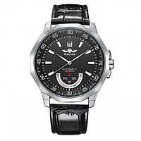 Winner Speed Black мужские механические часы с автоподзаводом, Гарантия 12 месяцев