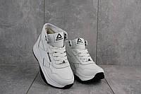 Женские кроссовки кожаные зимние белые-черные Onward Reb-New, фото 1