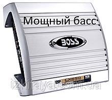Автомобильный усилитель звука BOSS Audio CHAOS EXXTREME CX650 1000Вт 4 канала