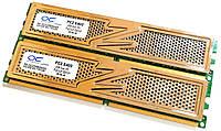 Игровая оперативная память OCZ DDR2 4Gb KIT of 2 800MHz PC2 6400U CL5 (OCZ2P8004GK) Б/У, фото 1
