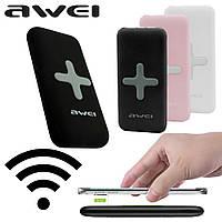 Портативное зарядное устройство Беспроводная зарядка Power Bank AWEI P98K 8000 мАч