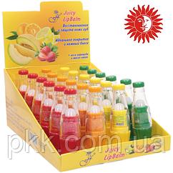 Блеск-бальзам для губ FFleur Juicy Balm LB-19 MIX № MIX А клубника-апельсин-лимон-дыня